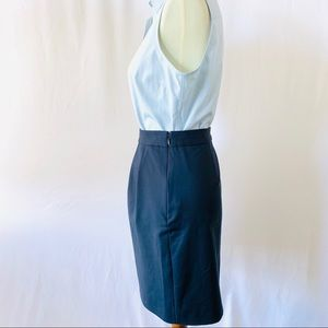 kate spade Skirts - KATE SPADE Blue Career Skirt